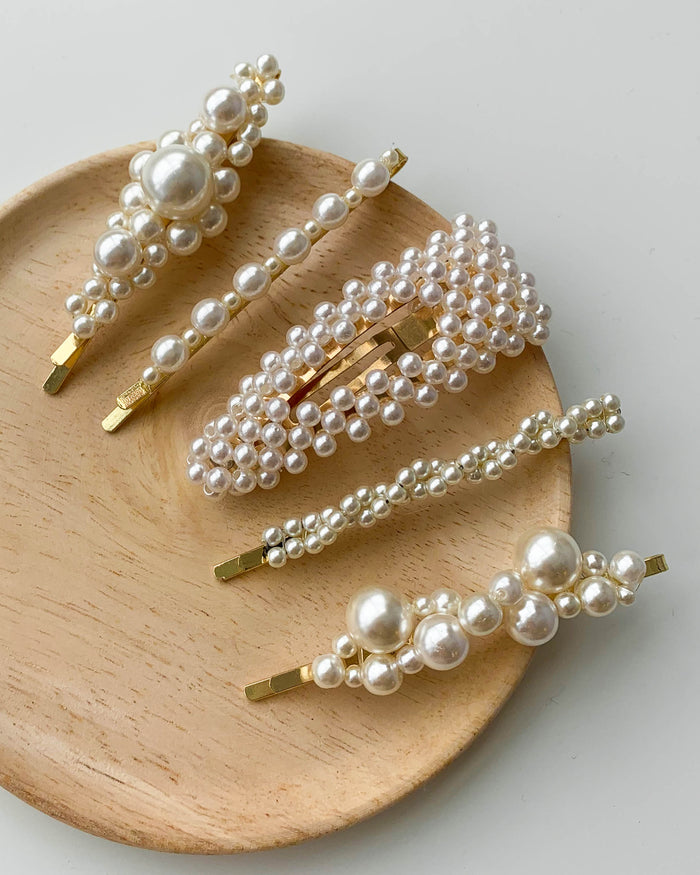Pearl Hairclip Collection (Accessories)