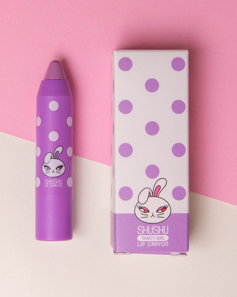 ShuShu Kids Lip Crayon (Orange/ Pink/ Purple)
