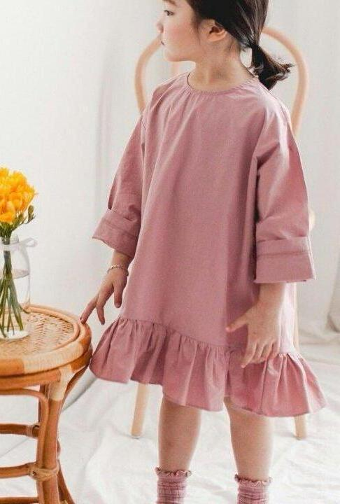 Cotton Mini Dress Indie Pink (Twinning)