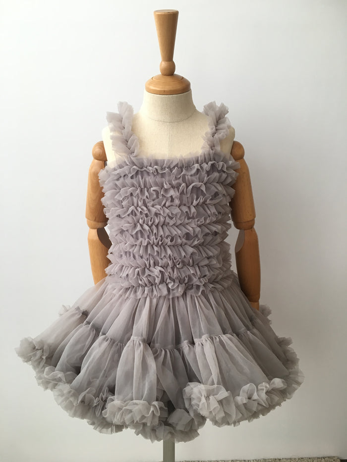 [READYSTOCK] Ballerina Tutu Dress (Grey)