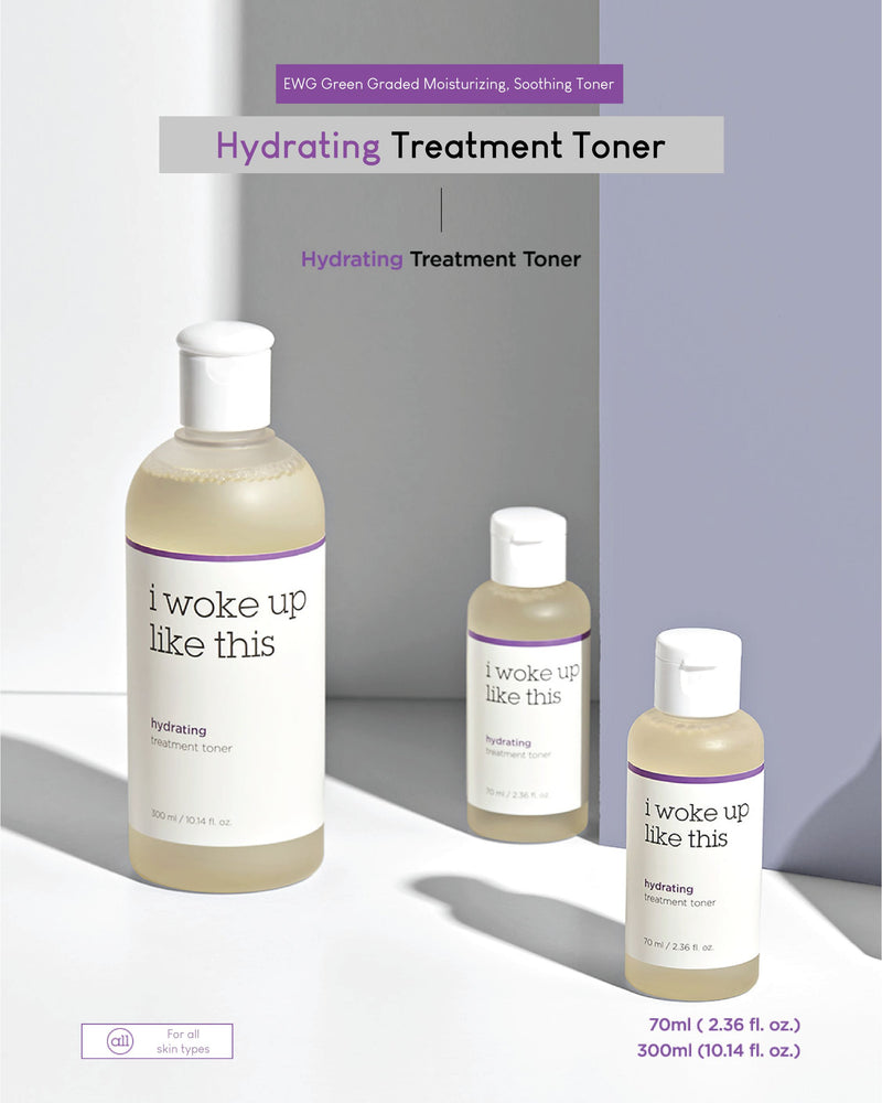 IWLT Hydrating Treatment Toner / Cotton Strips
