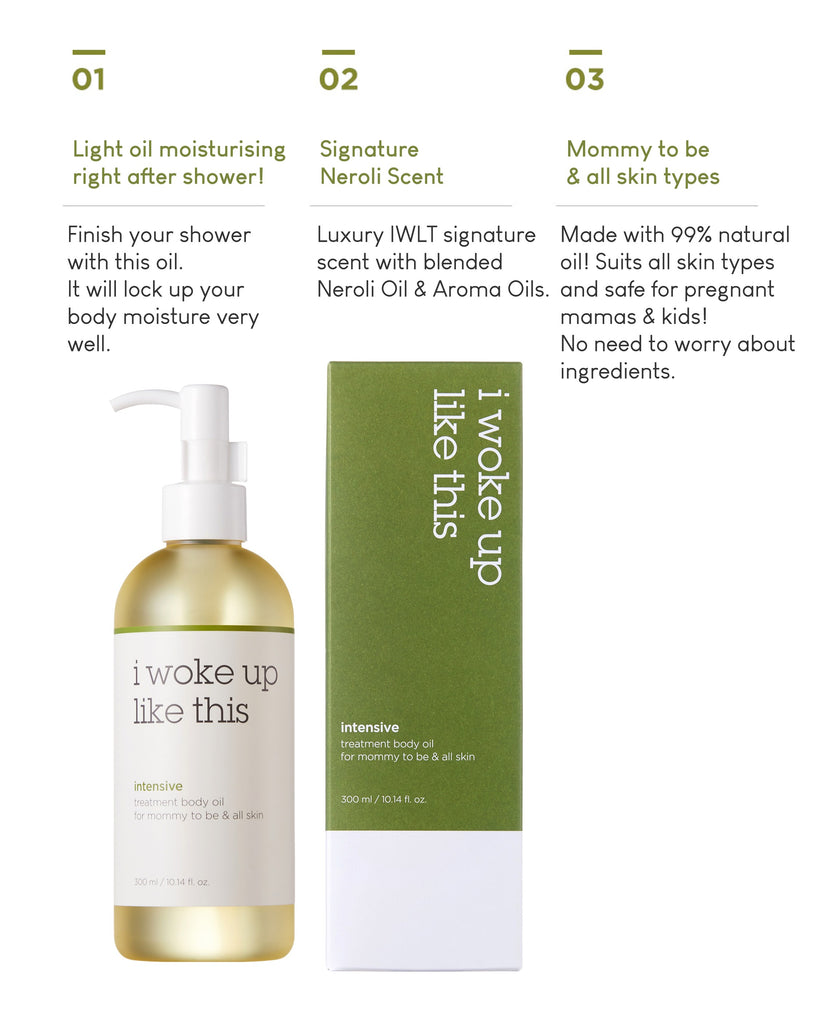 IWLT Intensive Treatment Body Oil