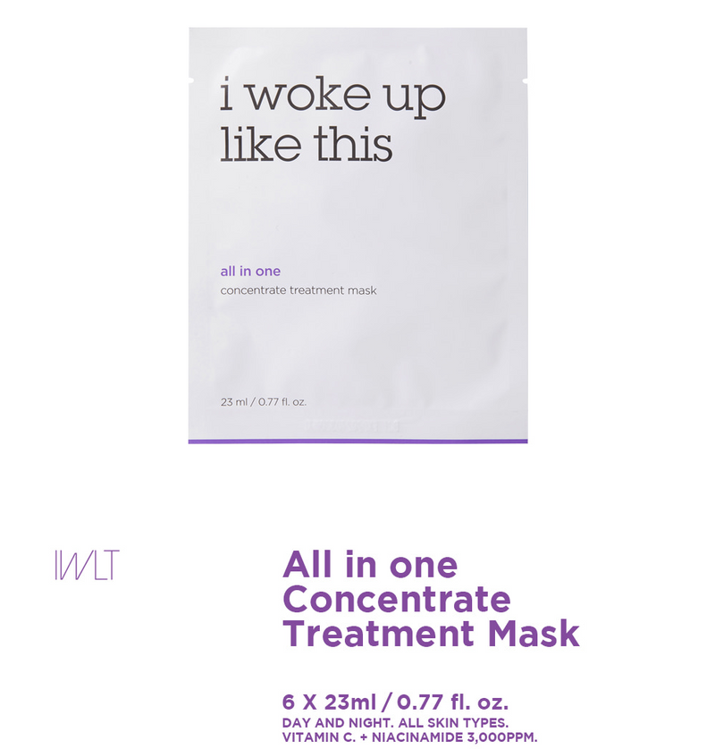 IWLT All in One Concentrate Treatment Mask (6 Sheets)