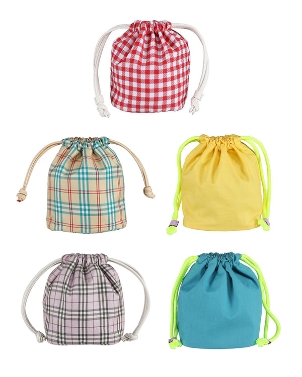 OUIOUI SS2019 Inner Drawstring Pouch (5 Colours)