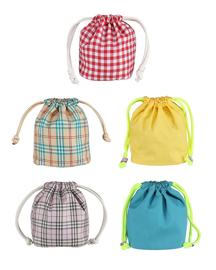 [PREORDER] OUIOUI Inner Drawstring Pouch (5 Colours)