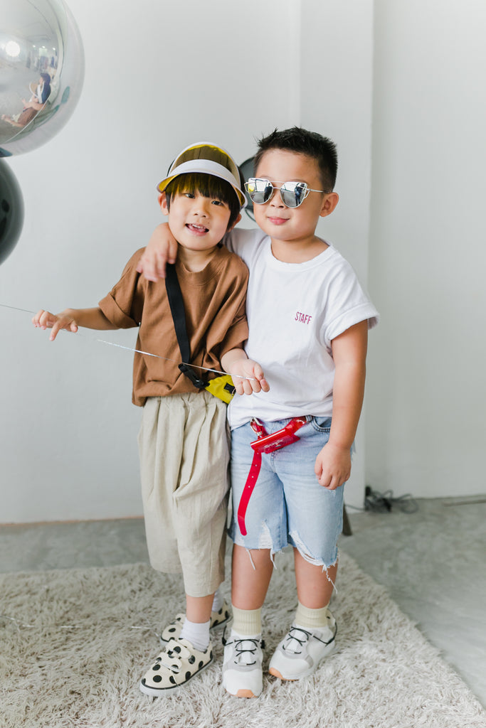 Johann Look (Macadamia Brown T-shirt/ Chestnut Beige Pants)