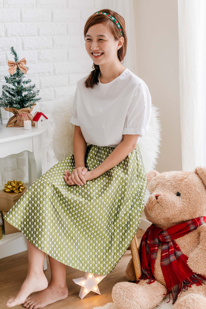Mary Poppins Skirt Green