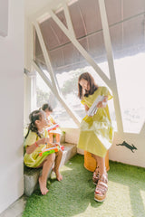 Picnic Dress Lime