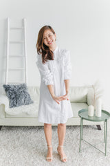 [PREORDER] Olivia Dress Ivory (Woman / Girl)