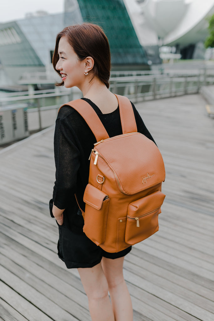 [1 Week Waiting] Forever Backpack (Brule/Stone/Noir)