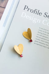 W.SEN Origami Heart (Necklace/ Earrings)