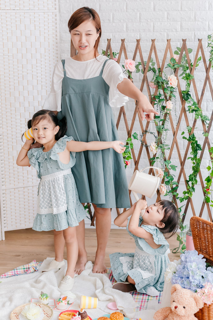 My Binky Dress Mint Twinning