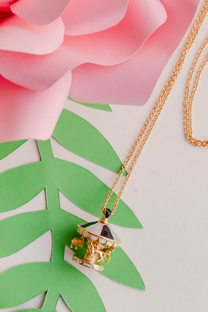 [PREORDER] Whimsical Merry-Go-Round Necklace (Kid)