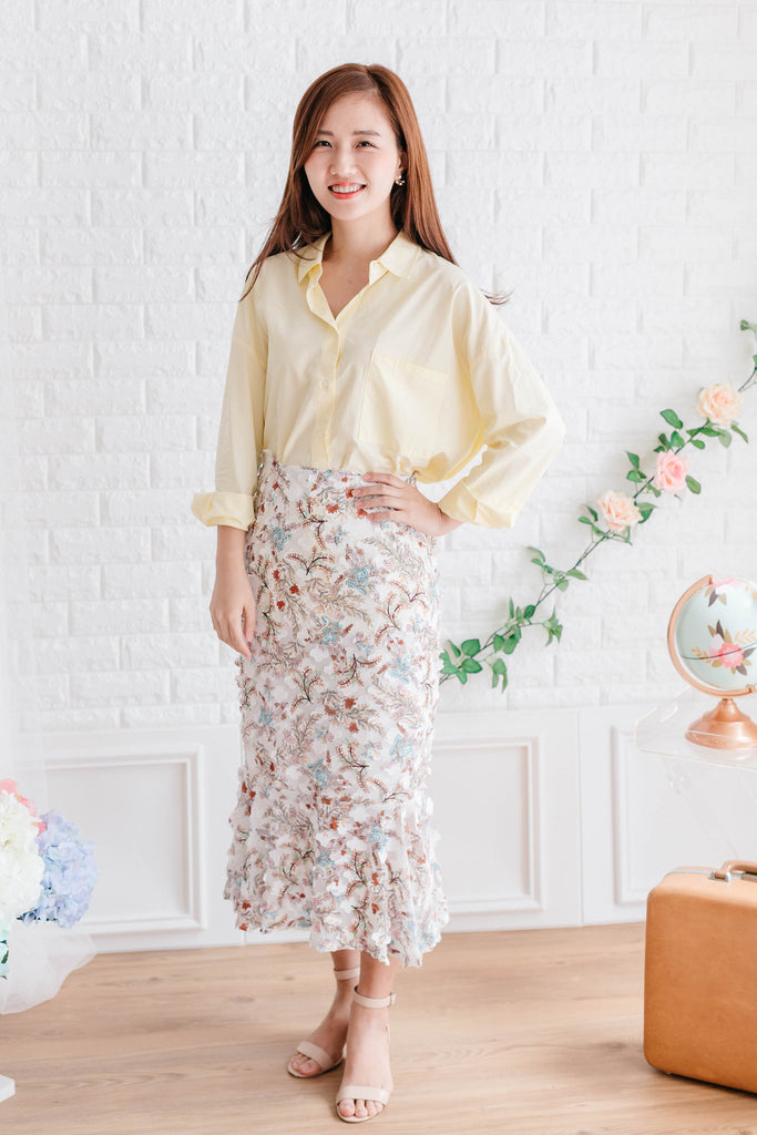[PREORDER] Summer Blouse Lemon