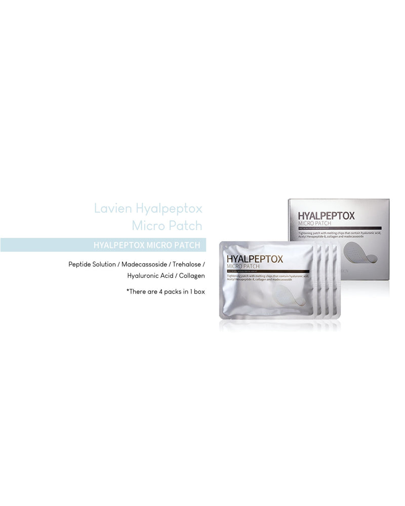 Lavien Hyalpeptox Micro Patch - UPGRADED