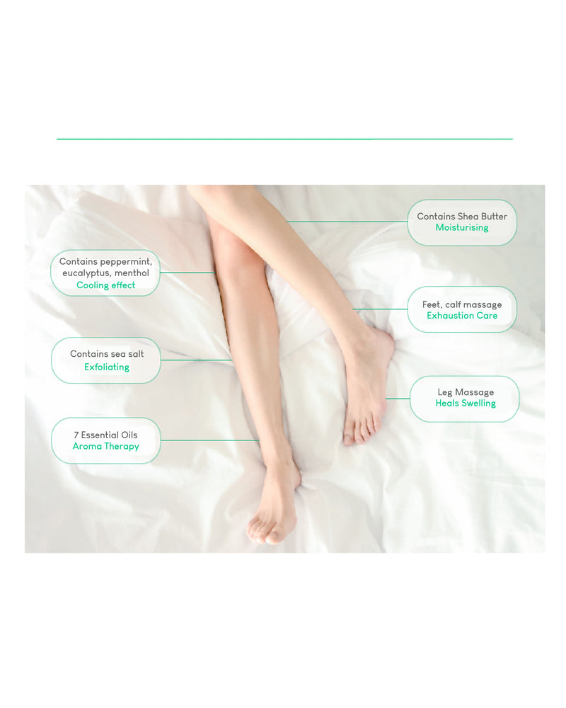 Cure Program Leg Spa Leg Mask Pack