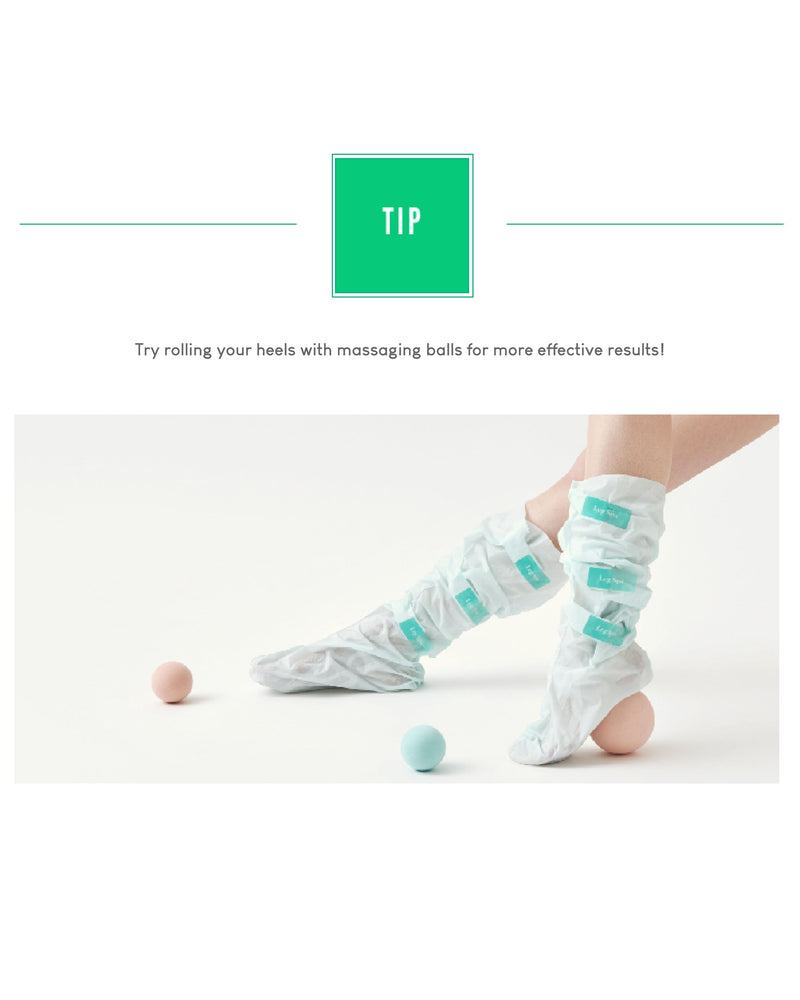 [PROMO] Cure Program Leg Spa Leg Mask Pack