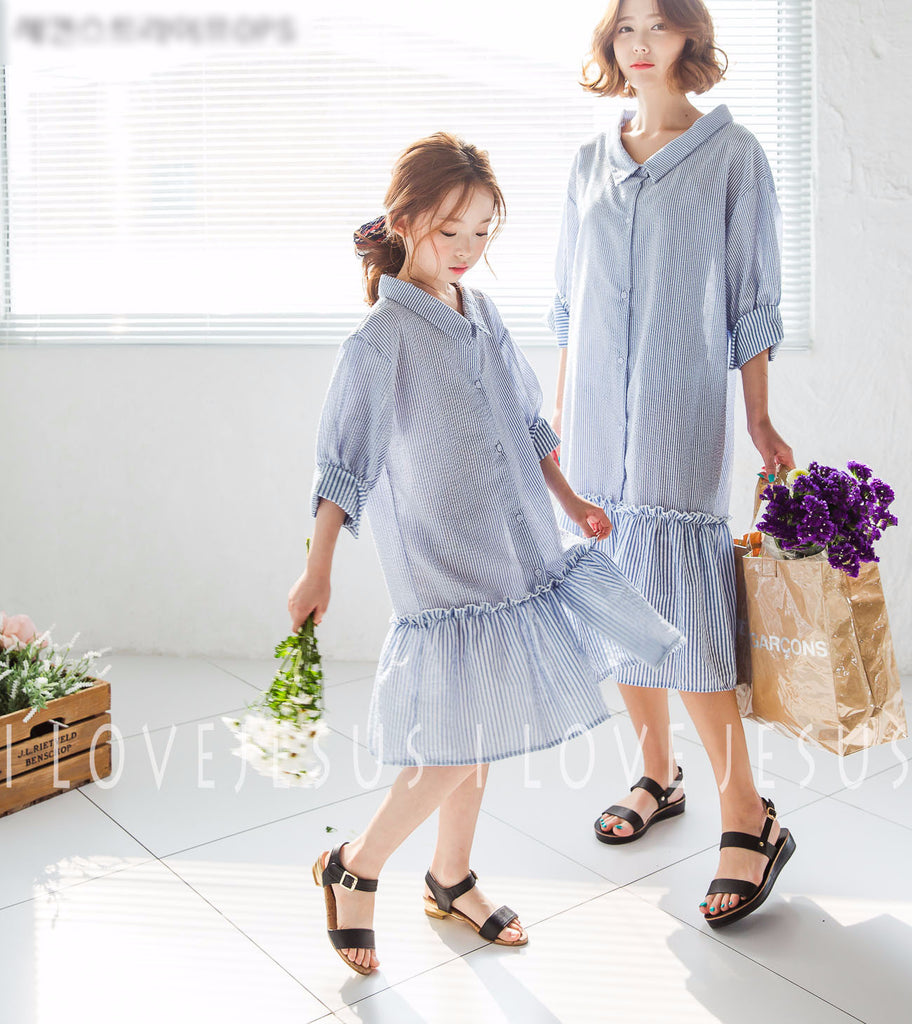 [2nd restock] Second Striped Dress Mum