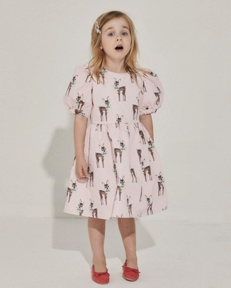 Bambi Dress (Pink/ Sky Blue)