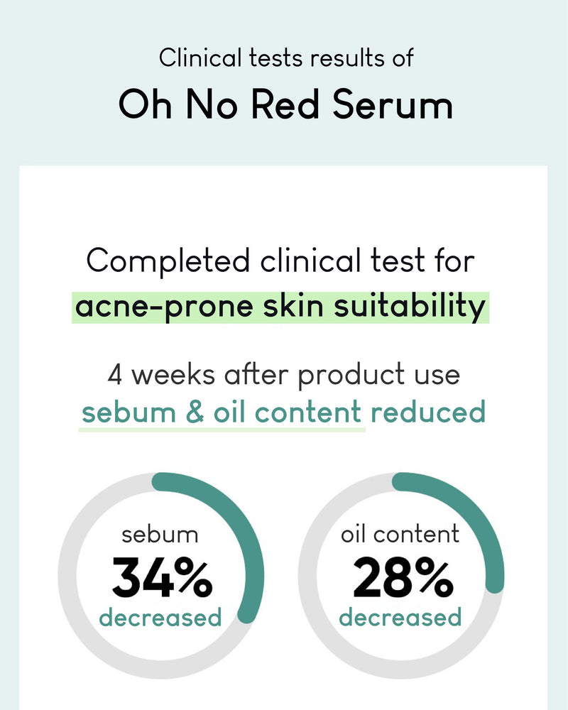OHIOHOO Oh No Red Serum