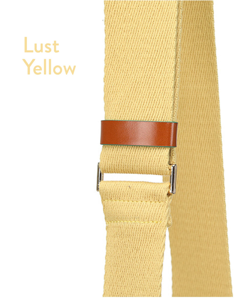 OUIOUI FW2019 Wide Fabric Strap (4 Colours)