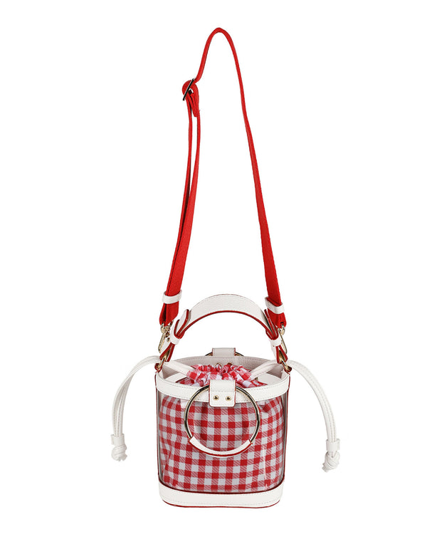 OUIOUI SS2019 Summer Waikiki Beach Bag (Red/White)