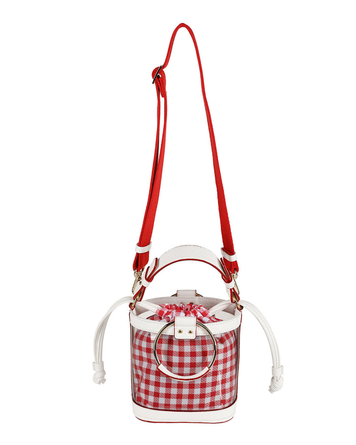 OUIOUI Summer Waikiki Beach Bag (Red/White)
