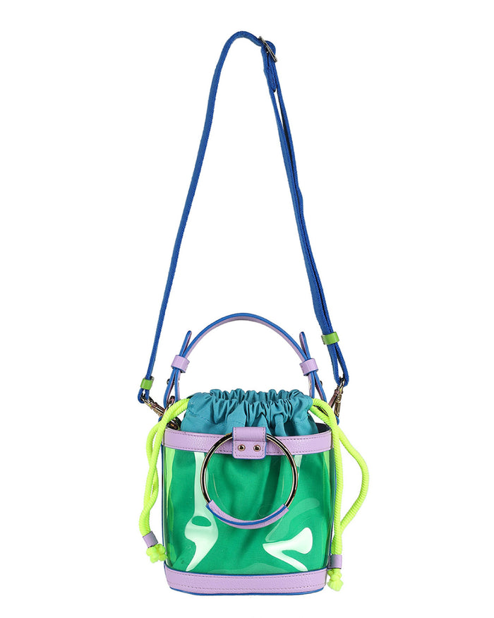 OUIOUI Summer Waikiki Beach Bag (Lavender/Blue)