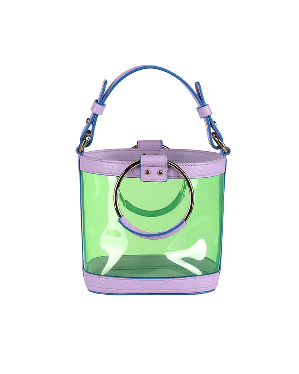 OUIOUI SS2019 Summer Waikiki Beach Bag (Lavender/Blue)