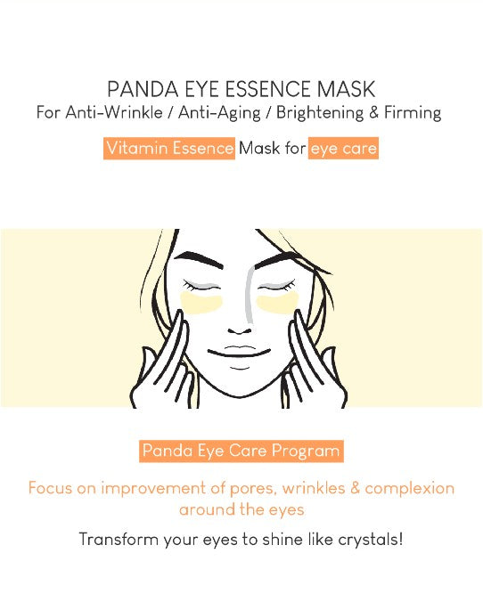 Wish Formula Panda Eye Essence Mask (10 Pairs)