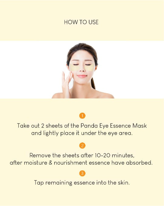 [PREORDER] Intensive Eyecare Treatment: Premium Wrinkle Kit / Hyaluronic Acid Micro Patch / Panda Eye Essence Mask