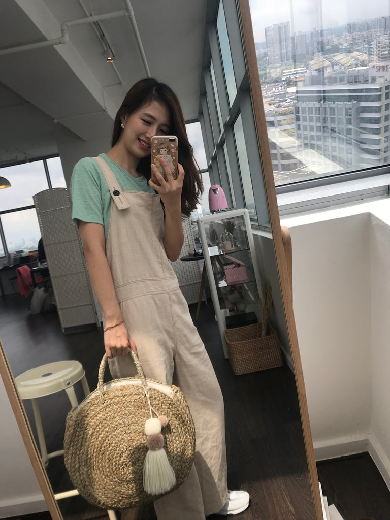 Relaxed Linen Overall