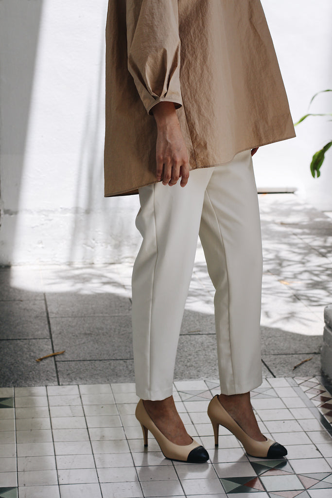 [PREORDER] Peg Pants (Cream/ Camel/ Black)