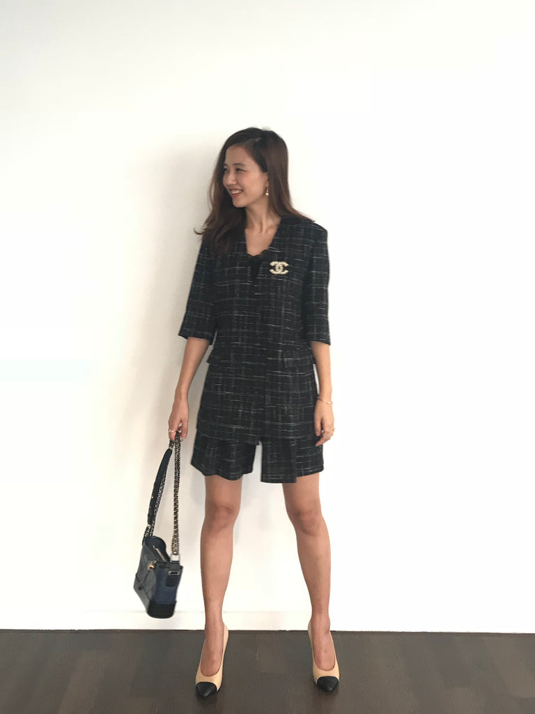 LUXE Summer Tweed Jacket / Pants