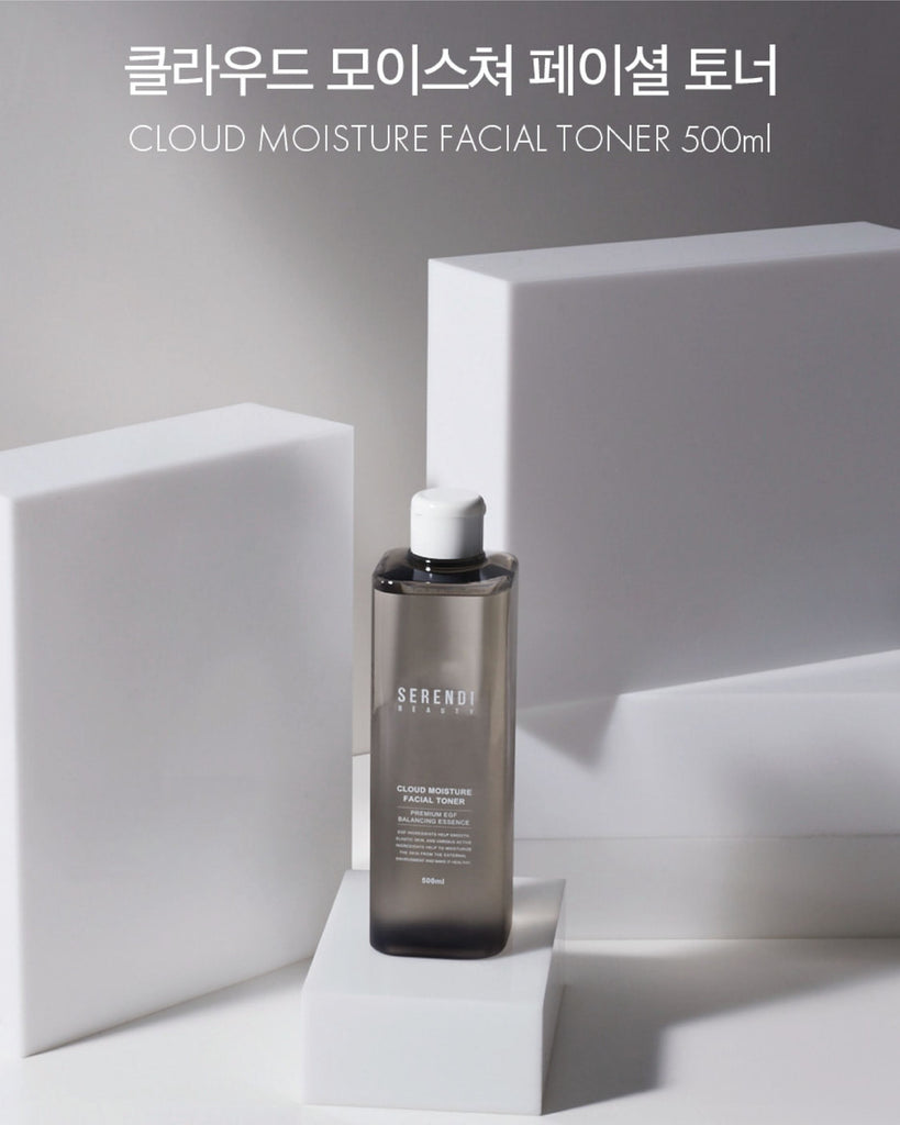 [PREORDER] Serendi Beauty Cloud Moisture Facial Toner/Cotton Pads