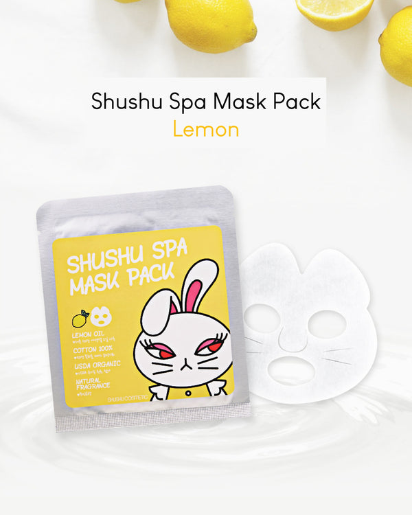 ShuShu Kids Spa Mask Pack (Lemon/ Orange/ Lavender)