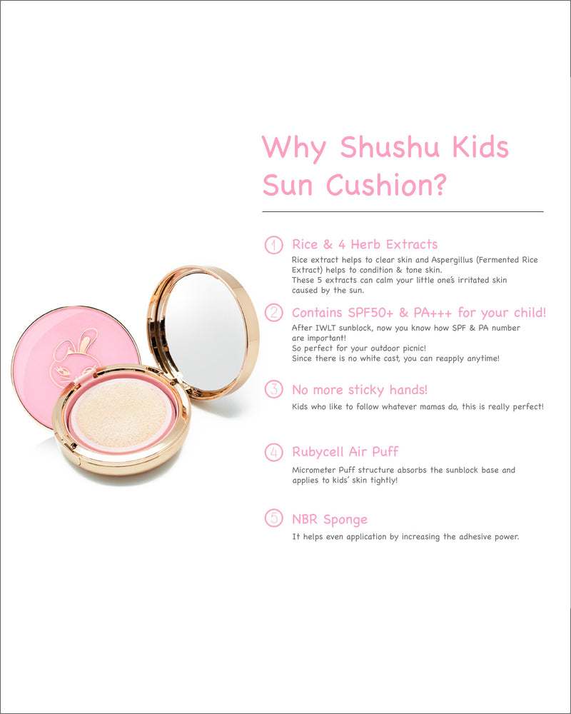 ShuShu Fancy Girl Sun Stick / Sun Cushion