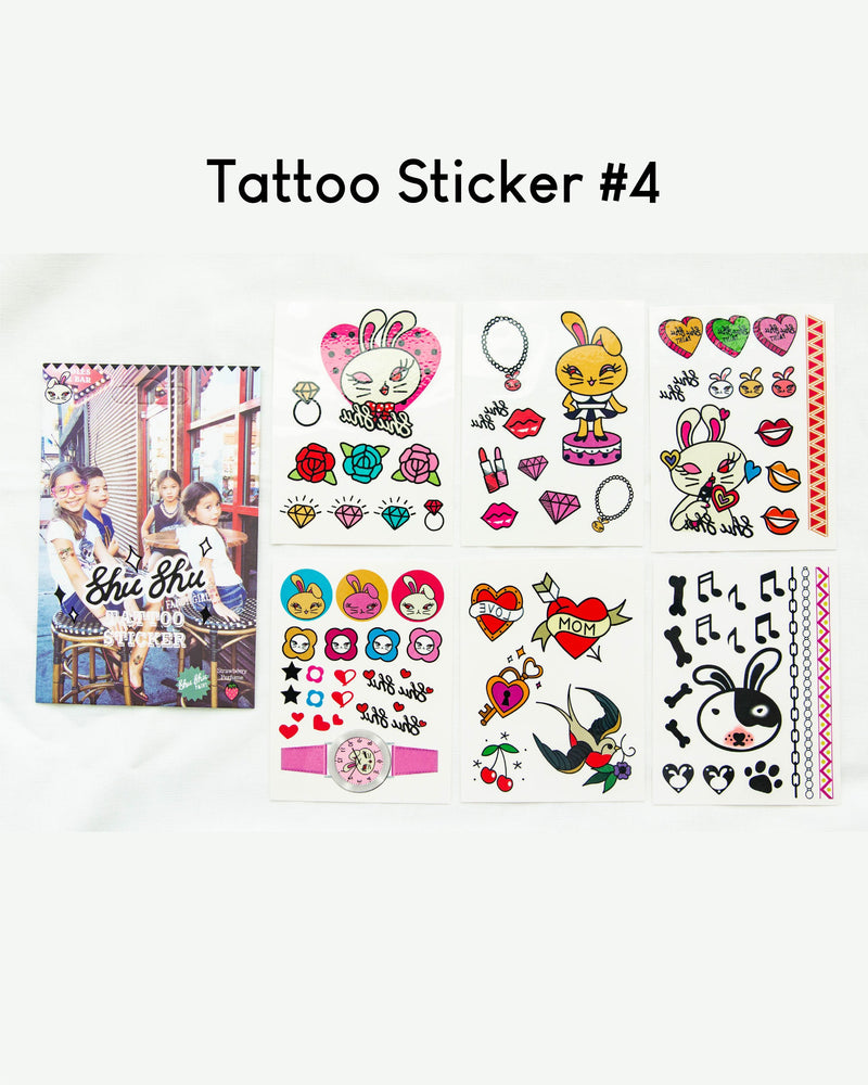 ShuShu Kids Tattoo Sticker