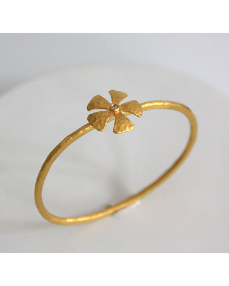 W.SEN Gold Cosmos Bangle