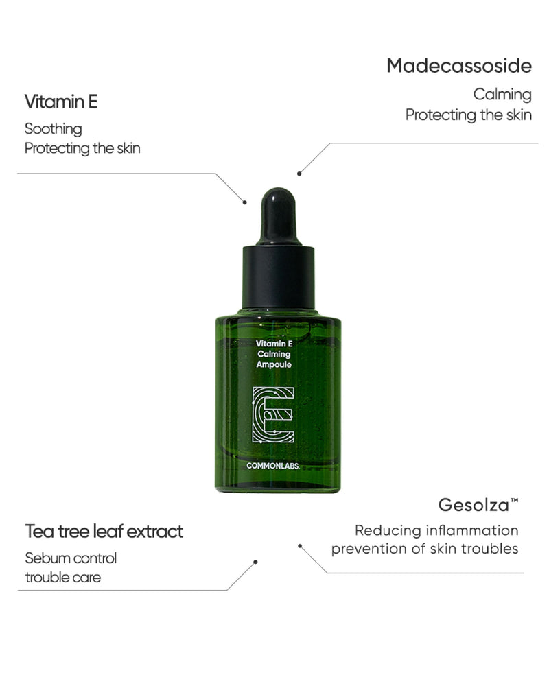 COMMONLABS Vitamin E Calming Ampoule