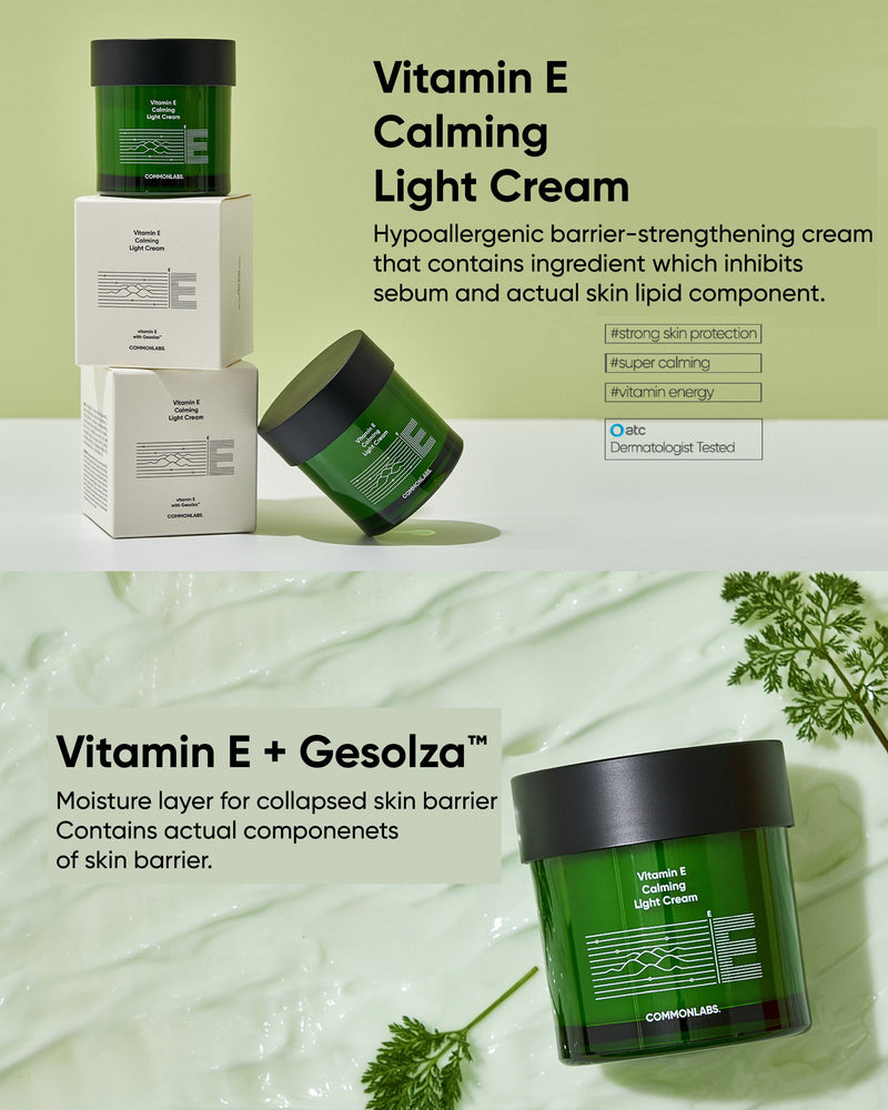 COMMONLABS Vitamin E Calming Light Cream