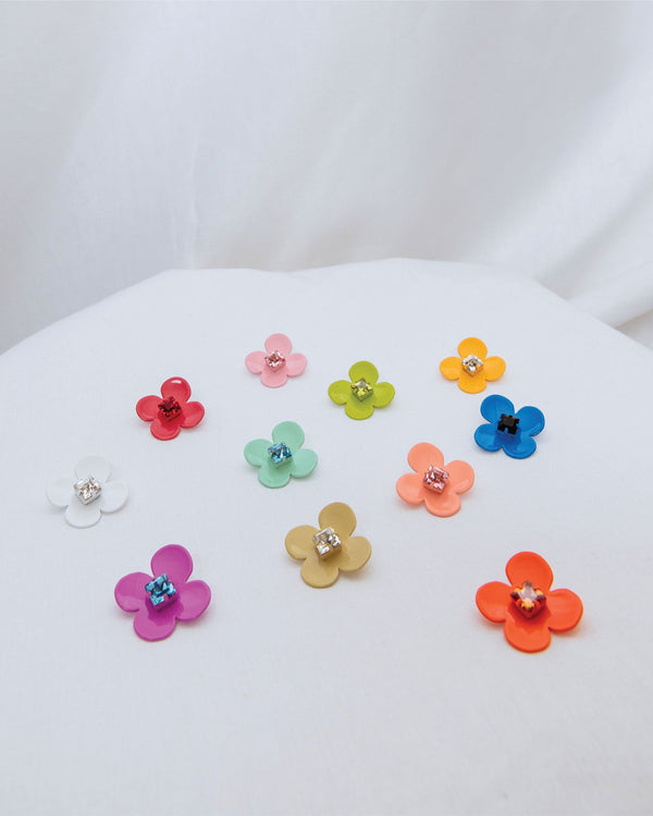 W.SEN Petit Fiore Pop Earrings (11 Colours)