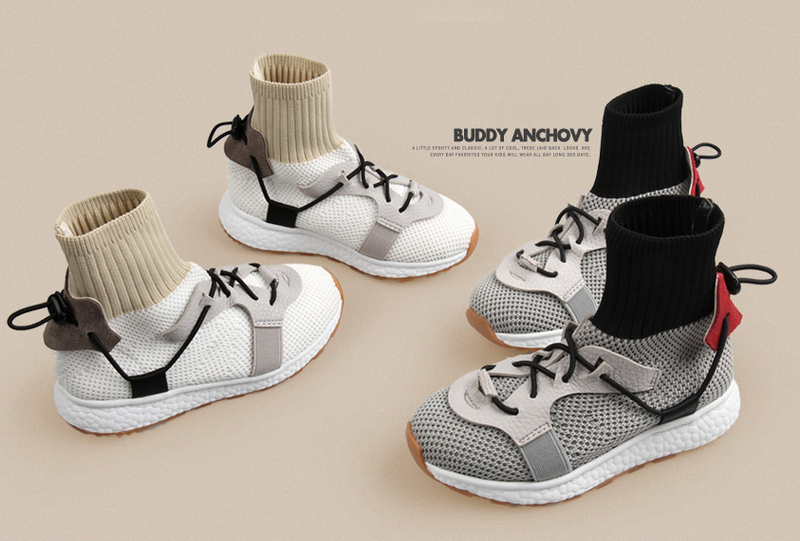 Anchovy Sneakers (Grey/ White)