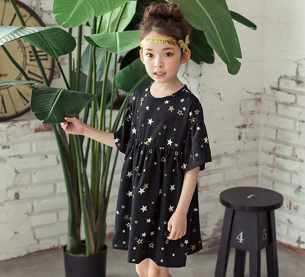 Black Star Dress - ksisters.sg