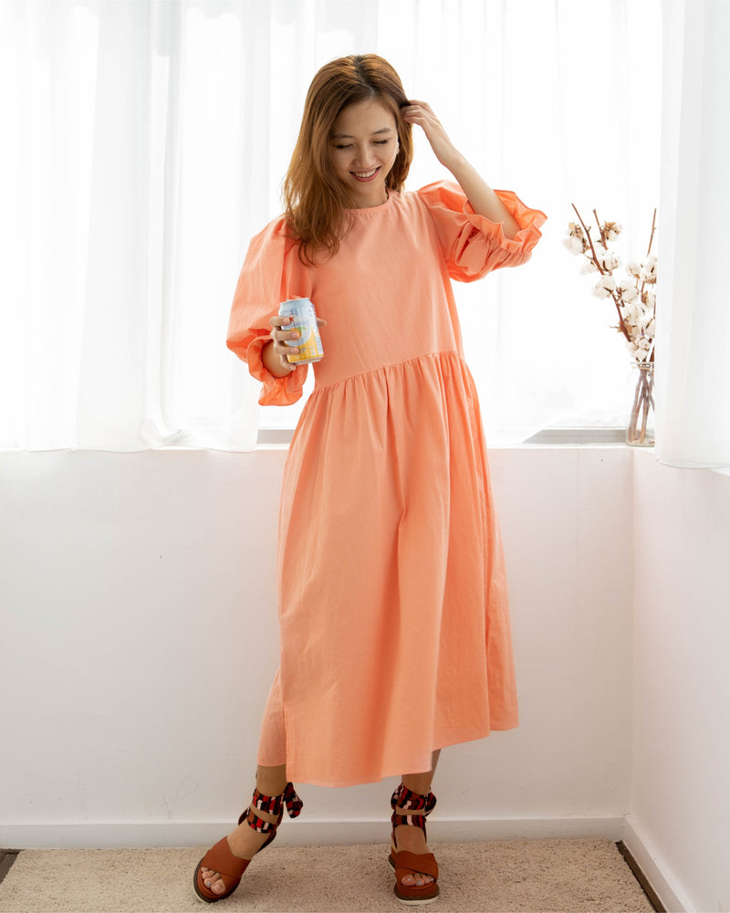 Twinning Sweet Dress Coral (Woman/girl)