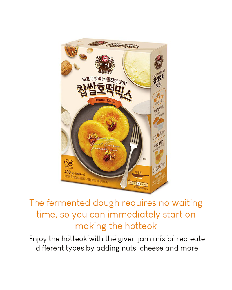 [PROMO] Beksul Sweet Korean Pancake Hotteok Mix