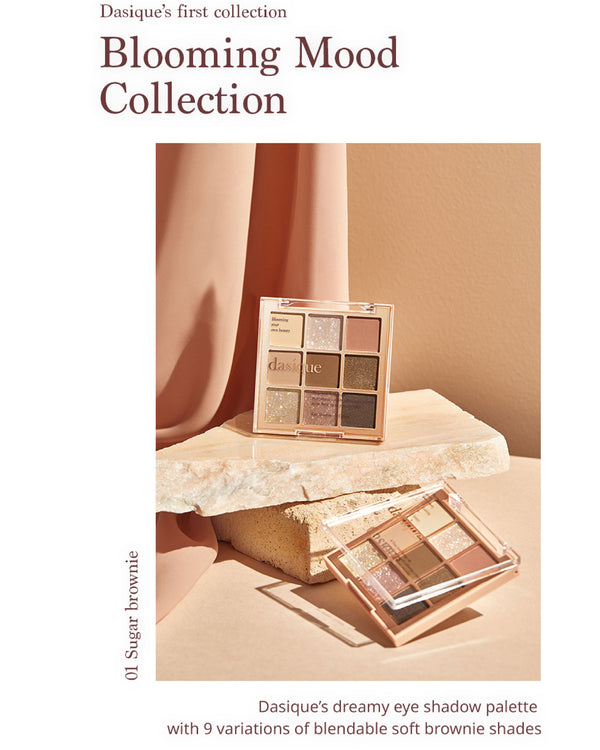 [PROMO] Dasique Eyeshadow Palette 01 Sugar Brownie