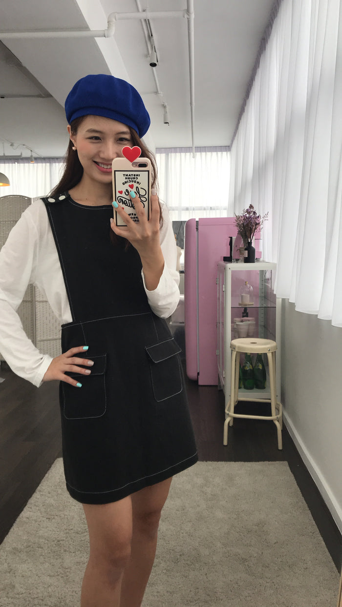 [PREORDER] Pinafore Dress (Woman Free Size)