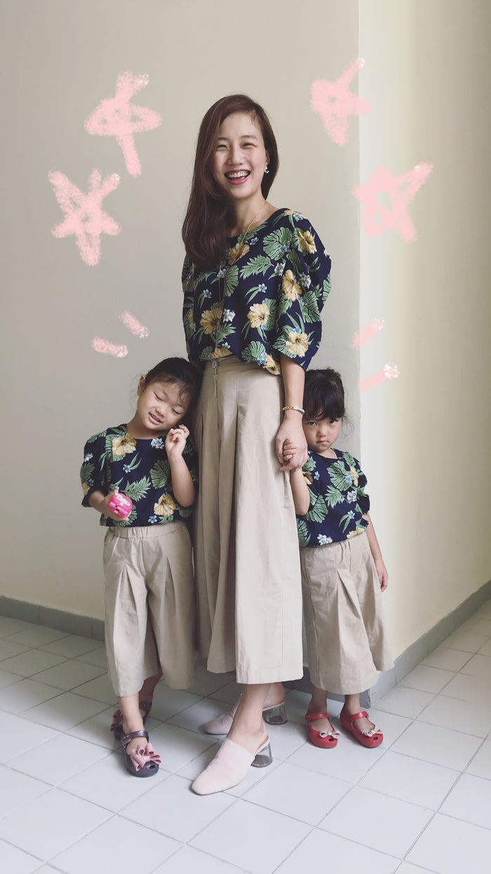 Bali Blouse + Wide Fit Pants