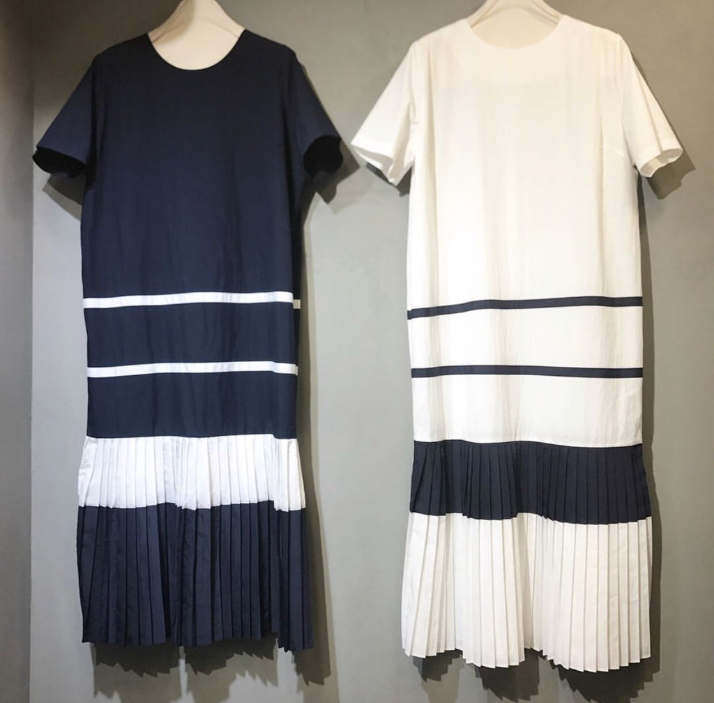 [2nd Restock] Saint Pleats Dress White